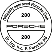 Officially approved Porsche Club 280